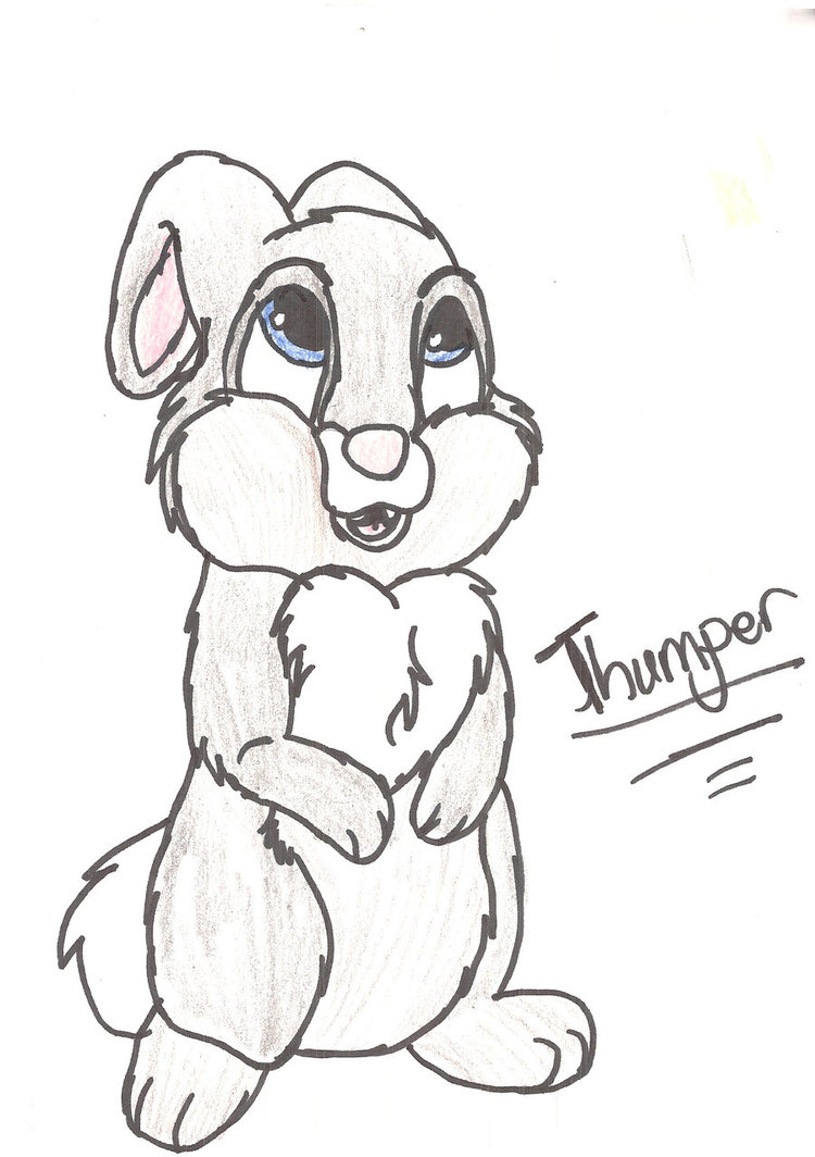 750x1064 Thumper By Songthedemonpuppy