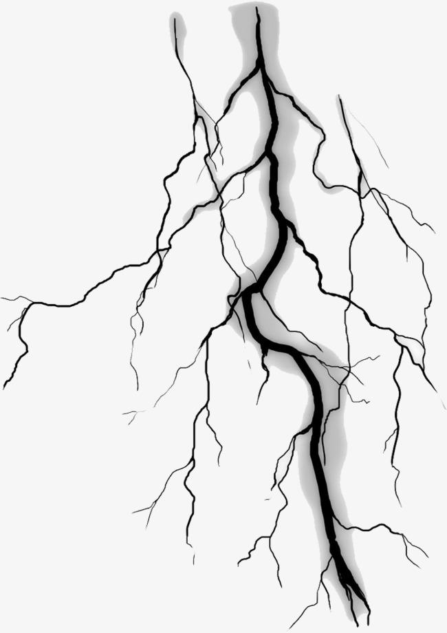 650x920 Black Lightning Material, Thunder And Lightning, Flashing, Black
