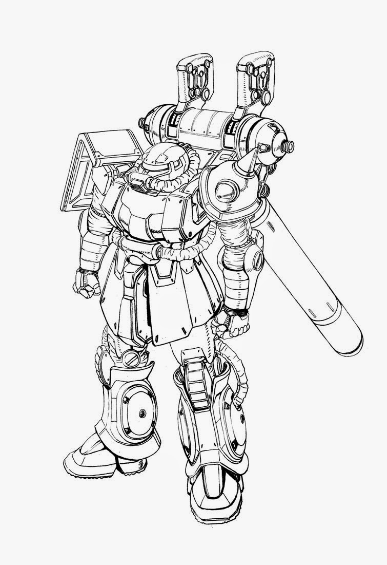 755x1100 Gundam Guy Mobile Suit Gundam Thunderbolt Mecha Artwork