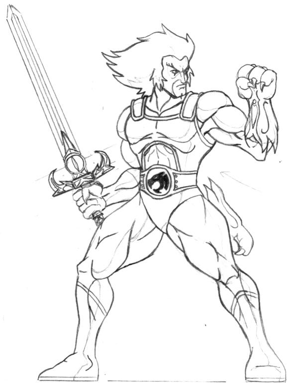 595x768 Lion O Sketch By Carnivius