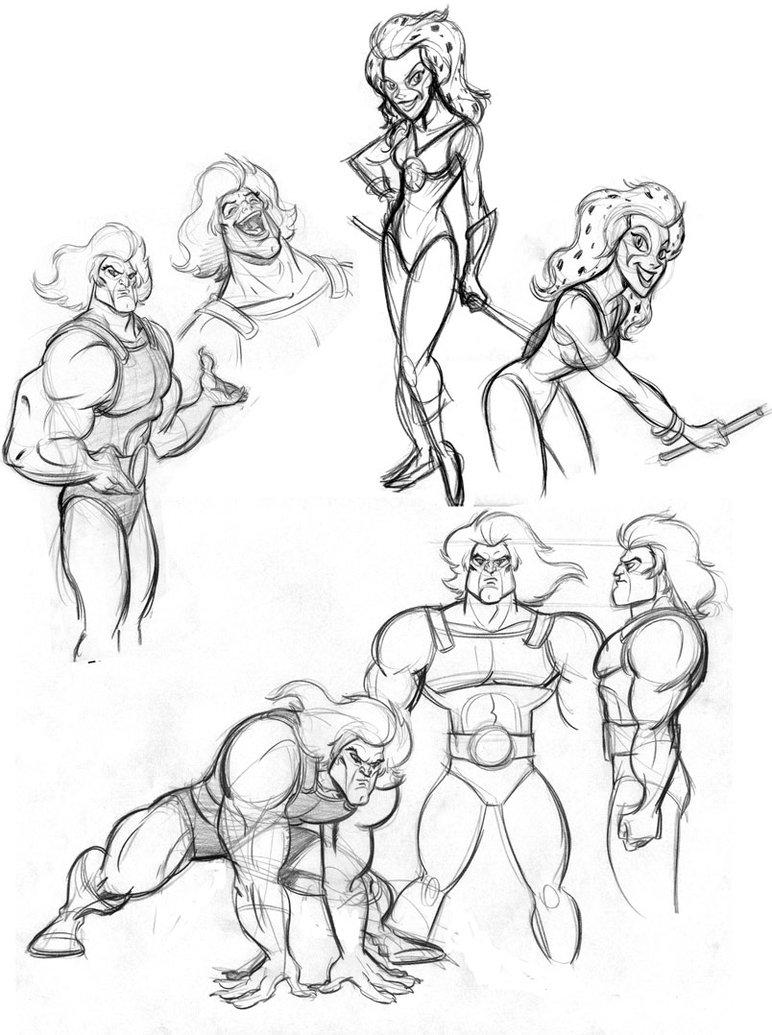 772x1035 Thundercat Sketches By Tombancroft