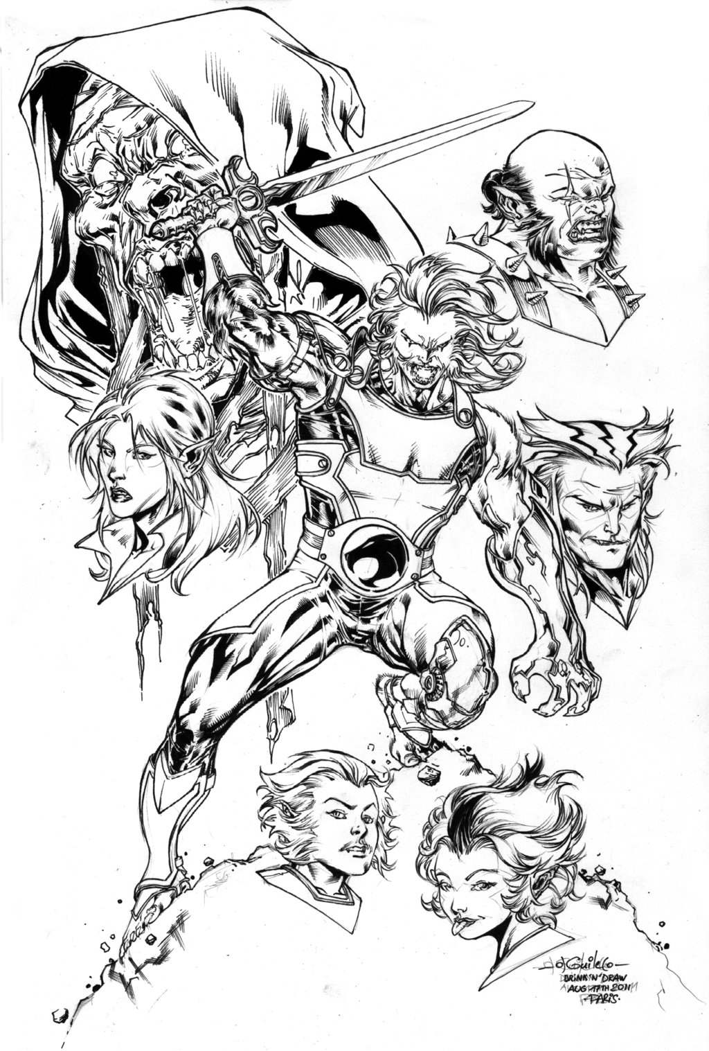 1024x1517 Thundercats Drink'N'Draw Inks By Spiderguile