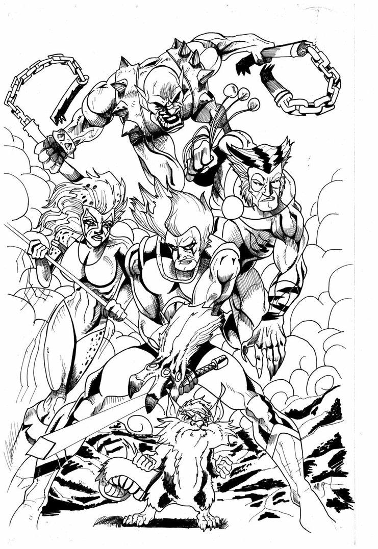 741x1077 Thundercats Ink By Legacyone1978