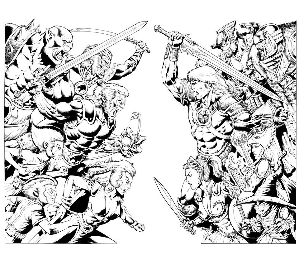 976x818 Thundercats Vs Masters By Inker Guy