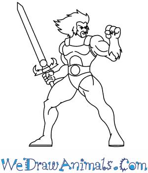 300x350 How To Draw Thundercats