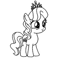 230x230 My Little Pony The Diamond Tiara Coloring Page