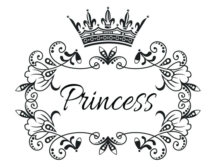 728x563 Amazing Tiara Coloring Pages Image Princess Crown Page Best G