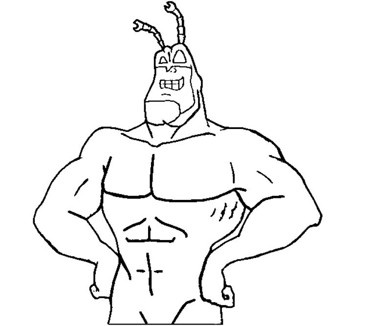 800x667 The Tick 1 Coloring Crafty Teenager