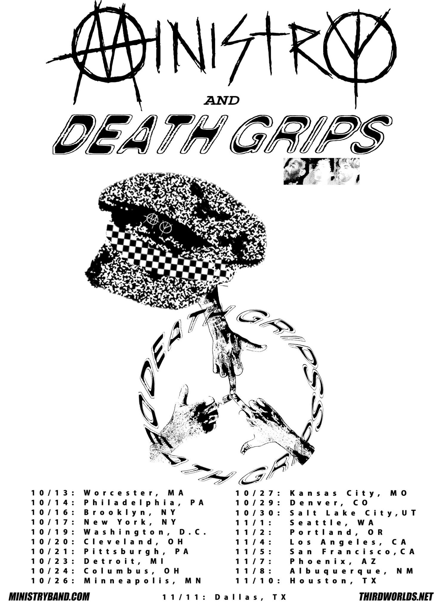 1462x2048 Ministry Are Going Out On Tour With Death Grips This Fall. Tickets