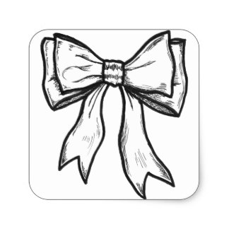 324x324 Drawing Bow Craft Supplies Zazzle