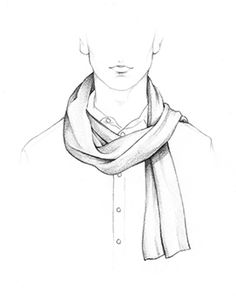 236x301 How To Tie A Scarf Accessories Scarves, Fashion