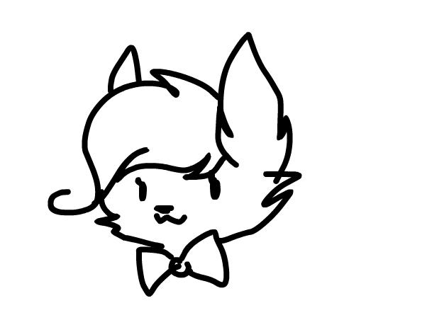 602x452 Bow Tie Cat