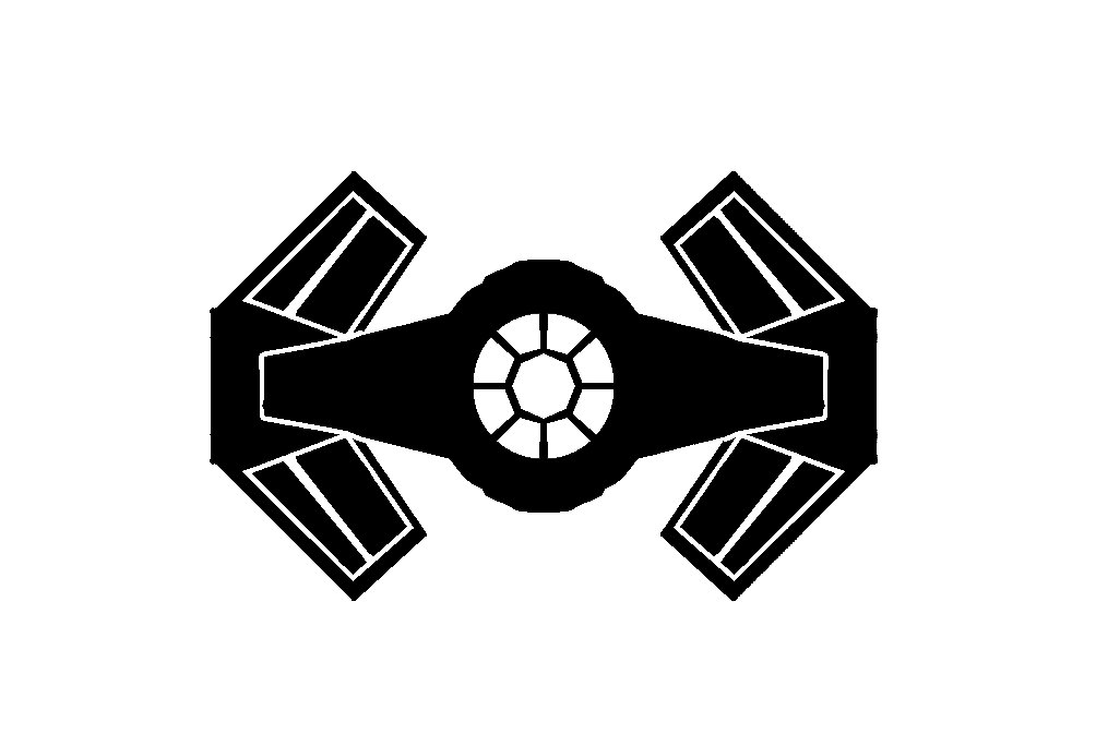 1015x684 Tie Fighter Advanced Vader 6 Inch