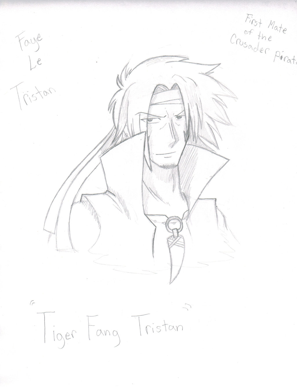 1024x1334 Tiger Claw Tristan Faye Le Tristan By Proxamina