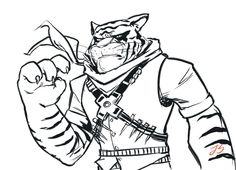 236x170 Tiger Claw Was Challenging To Draw, Decided To Try A Different