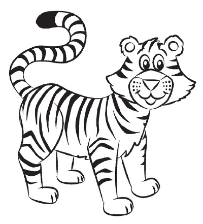 Tiger Drawing