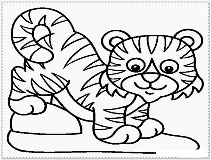 Tiger Drawing Cartoon at GetDrawings.com | Free for personal use ...