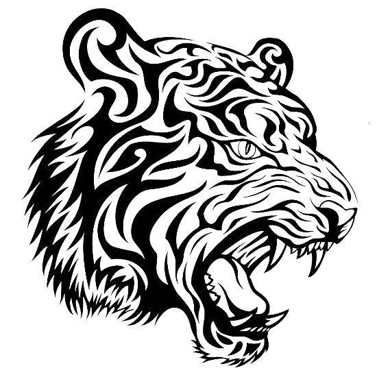 550x550 Tiger Tattoo Designs Tiger Tattoo Design, Tiger Tattoo