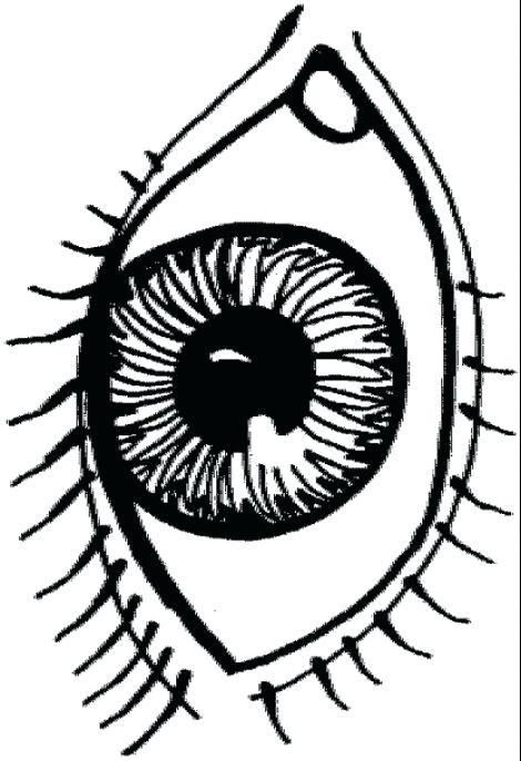 470x687 Eyes Coloring Pages Detail Beautiful Eye Tiger