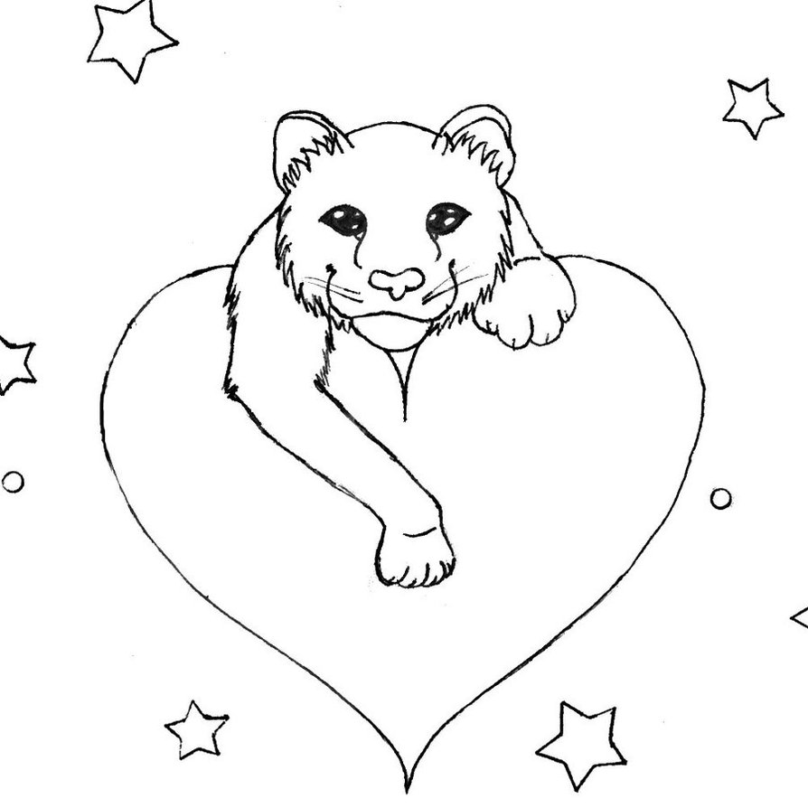 894x894 Mew Stripeless Tiger Outline By Ayamewolf93