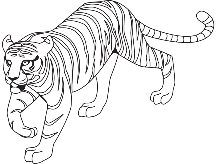 700x532 60 Tiger Shape Templates Crafts Amp Colouring Pages Free