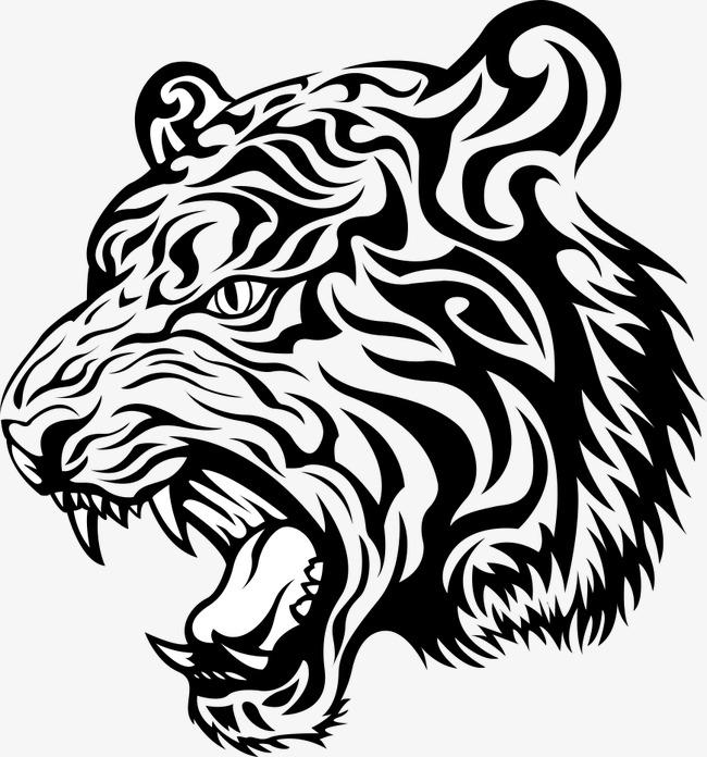 650x696 Animal Tiger Print, T Shirt Printing, Prints, Vector Printing Png