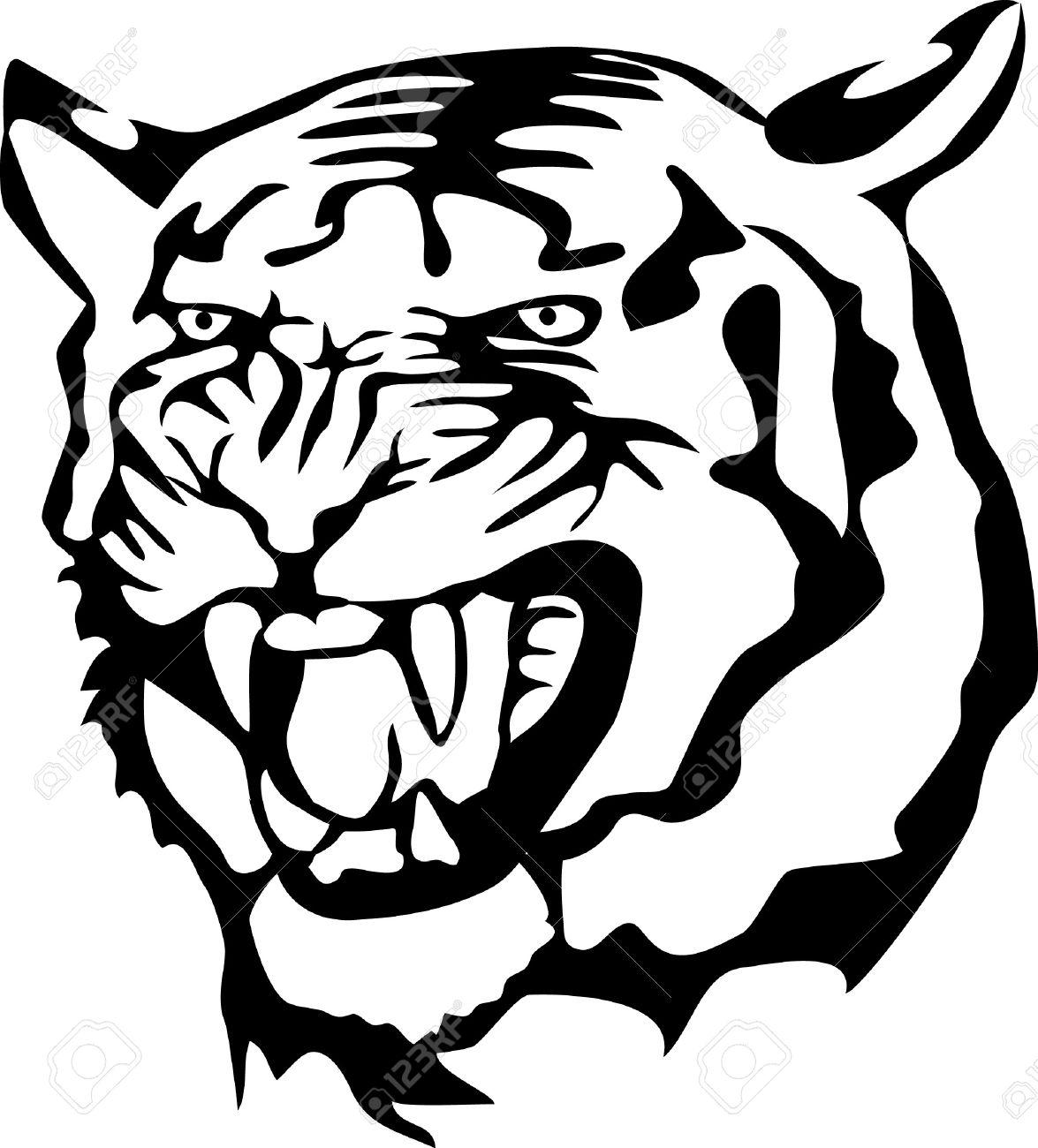 1175x1300 Wildcat Clipart Tiger Roar