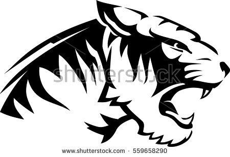 Line Drawing Lion Head : Lion head vector art thinkstock