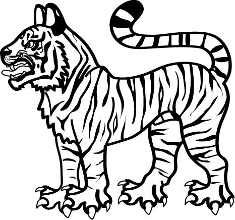 466x436 Sarmatian In The Sca Drawing An Animal In Heraldic Style