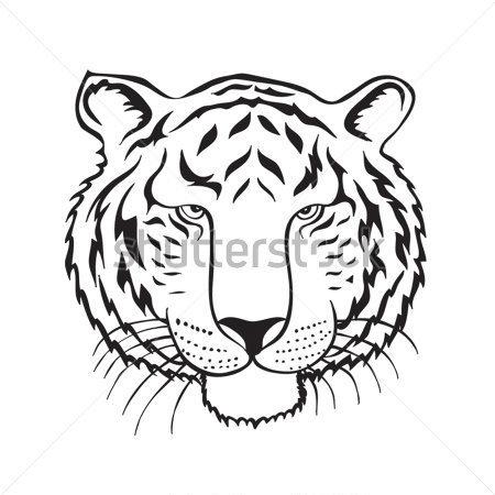 450x450 Tiger Scratch Clipart