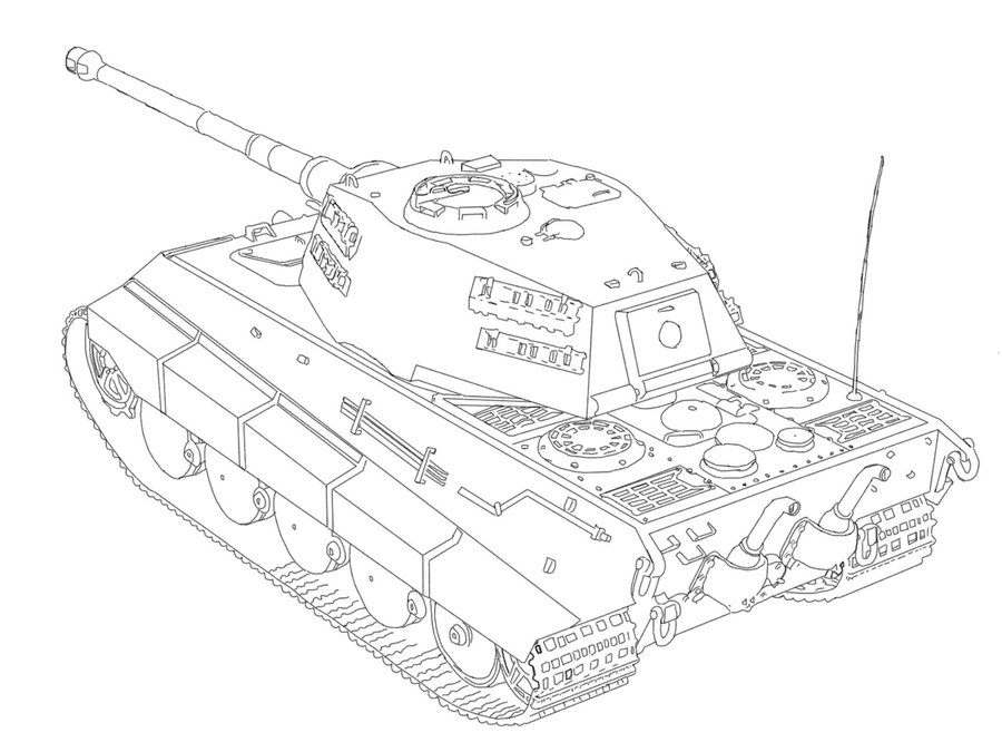 tiger tank drawing at getdrawings com
