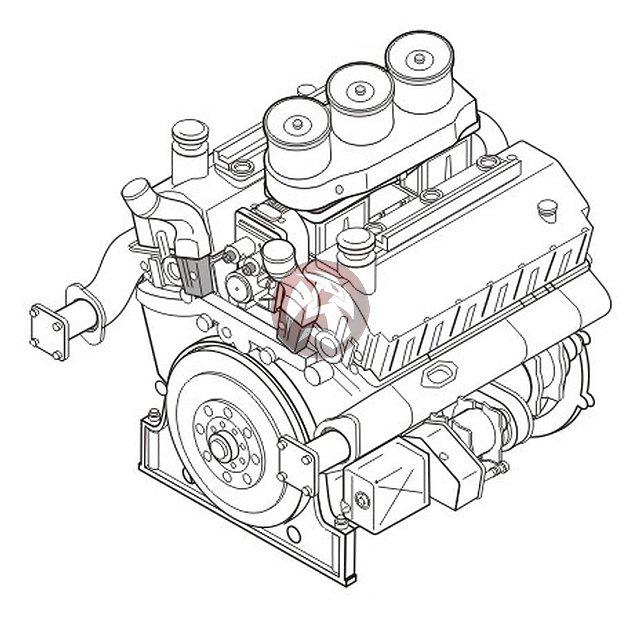 640x617 Cmk 135 Maybach Hl 230 P45 German Wwii Tank Engine (Tiger I