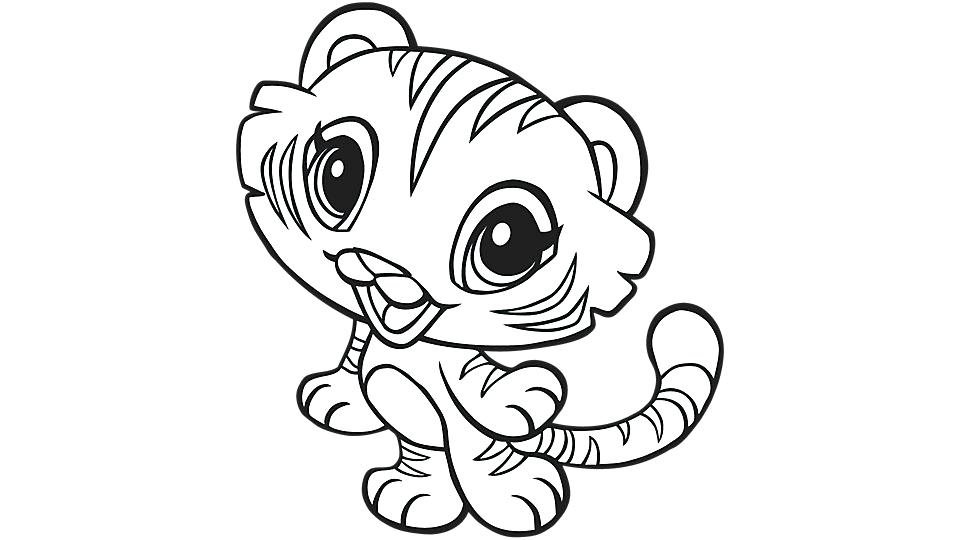 960x540 Tigers Coloring Pages Genesisar.co
