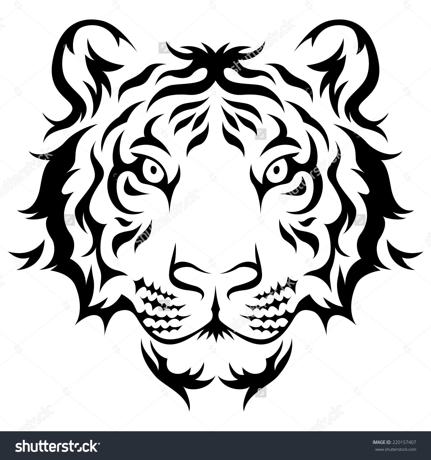 Tigers Eye Drawing At Getdrawingscom Free For Personal Use Tigers