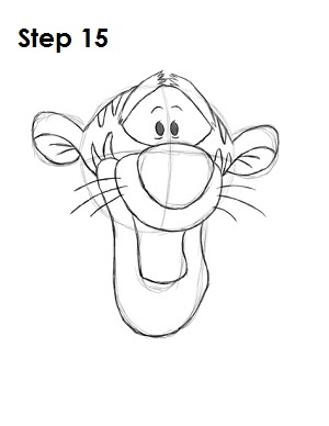 300x388 How To Draw Tigger