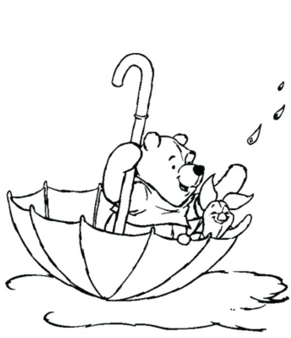 600x697 Piglet Coloring Pages The Pooh And Piglet Spring Coloring Pages