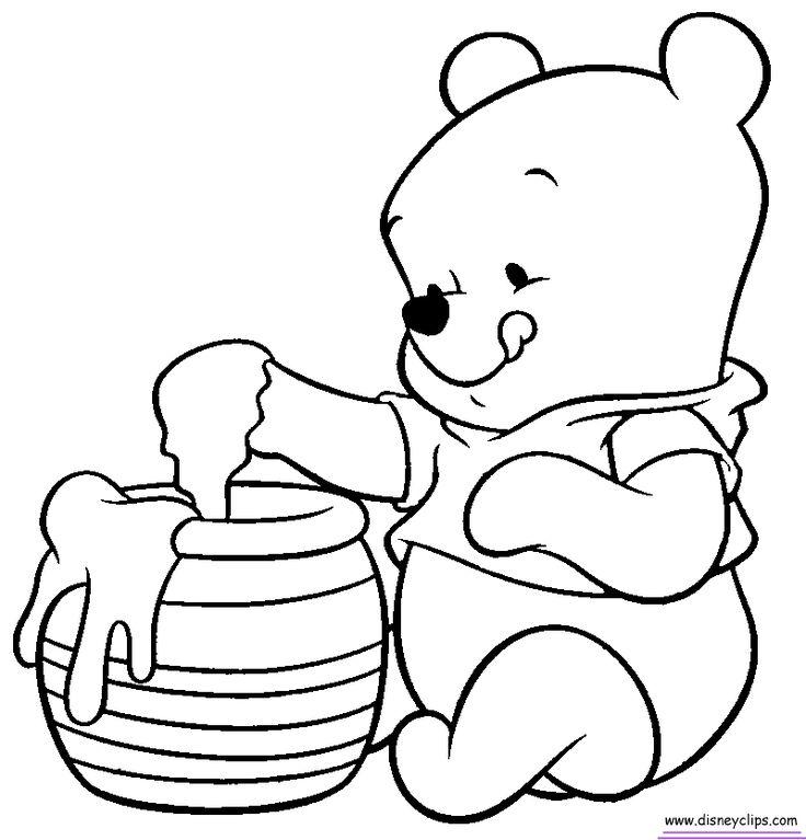 736x767 Tigger And Pooh Coloring Page 299215