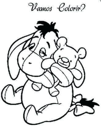 329x448 Perfect Baby Winnie The Pooh Characters Coloring Pages Print Best