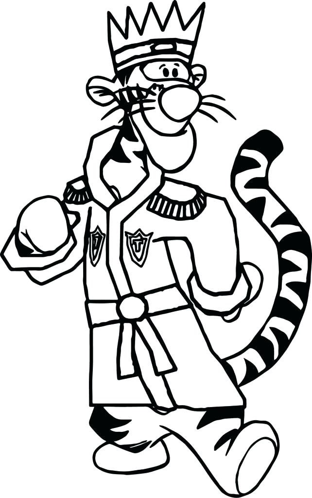 642x1024 Best Tigger Coloring Pages Print King Page Free Tiger Face