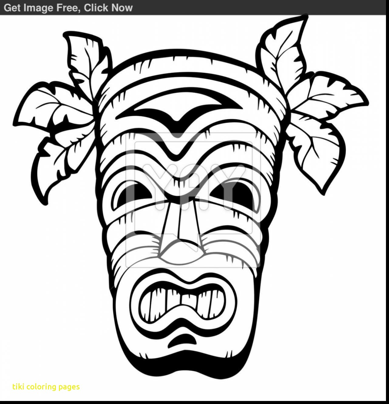 tiki man coloring pages - photo#19