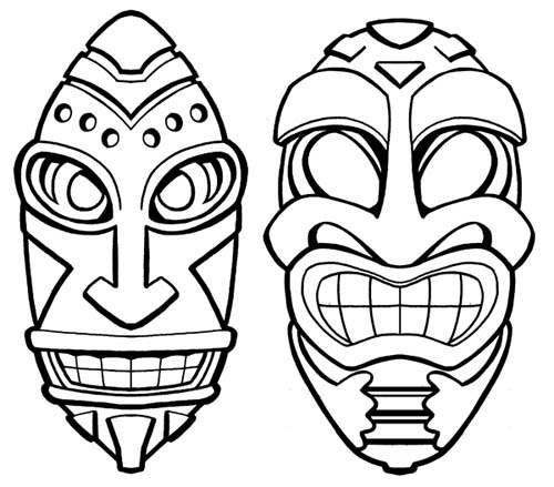 500x439 Gene Gonzales' Sketches Amp Other Silly Stuff Tiki Bar