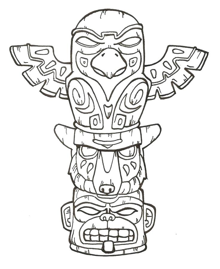 736x900 Tiki Coloring Pages Coloring Pages Tiki Man Coloring Pages