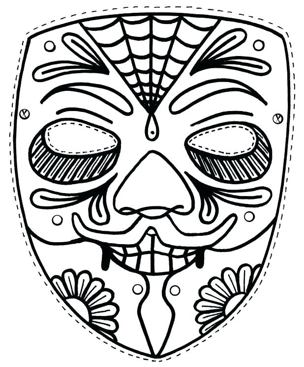 618x747 Tiki Coloring Pages Drawings Pics Mask Coloring Pages Tiki Faces