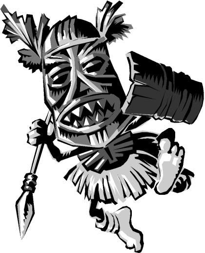 420x518 Tribal Tiki Tattoo Stencil Happy Little Henna Tiki