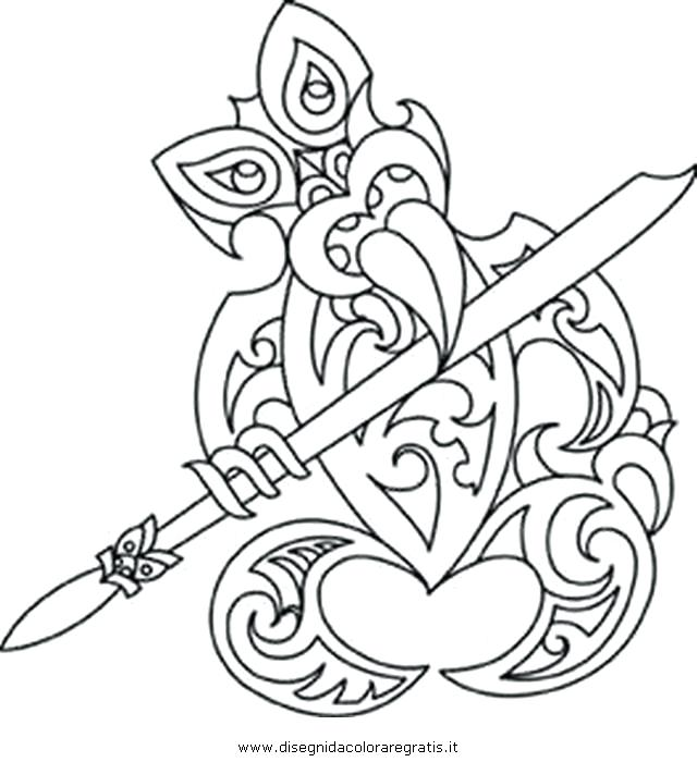 640x700 Tiki Coloring Pages Coloring Pages Tiki Mask Coloring Pictures