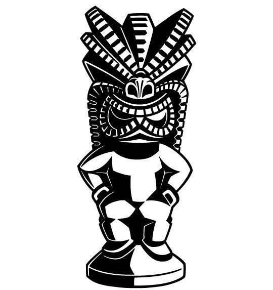 540x573 8 Best Tattoos Images On Tiki Tiki, Tiki Art And Tiki