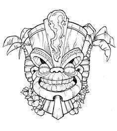 236x264 90 Best Tiki Images On Tiki Tiki, Tiki Totem And Drawings