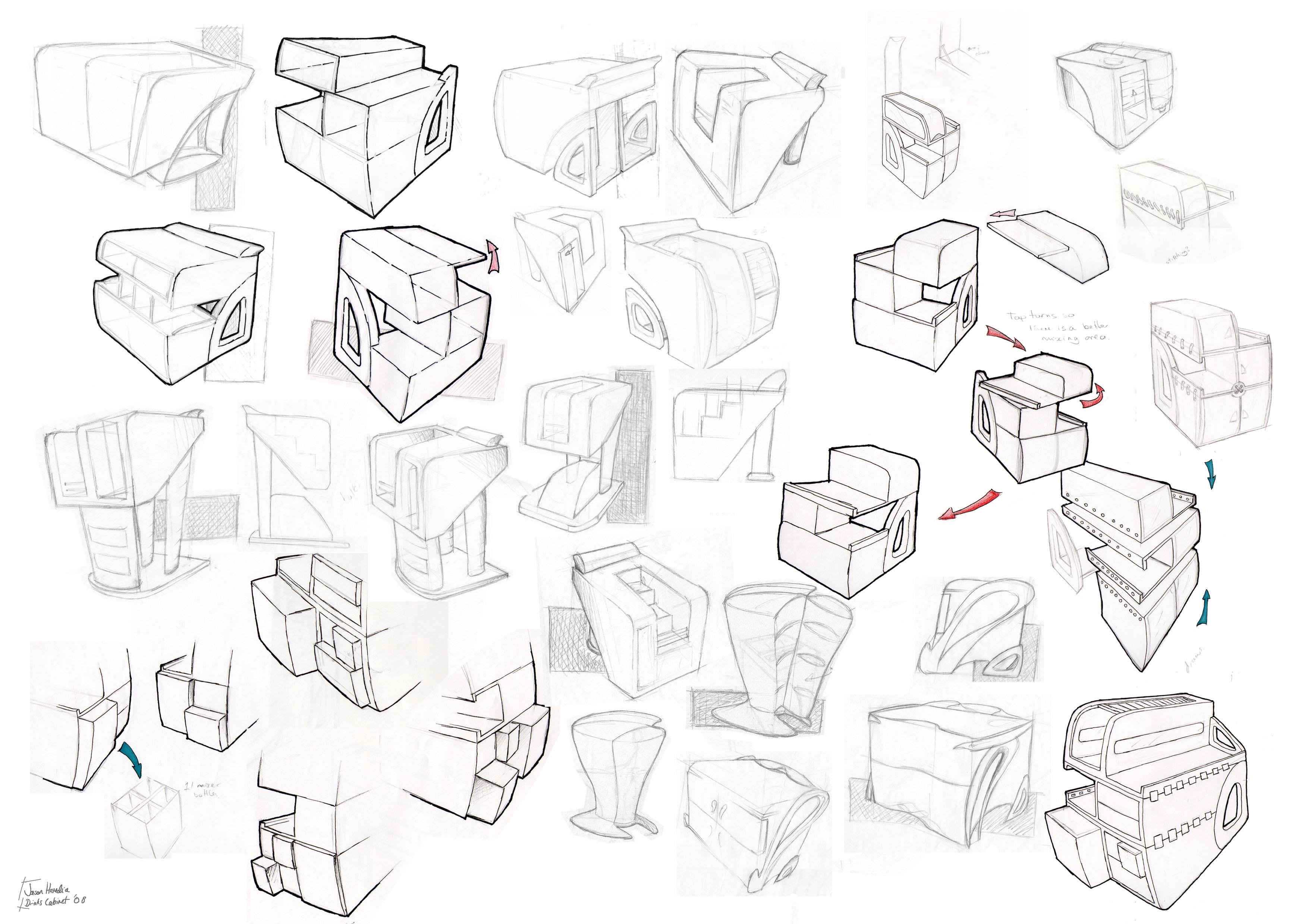 3508x2480 Modern Furniture Modern Furniture Design Sketches Compact