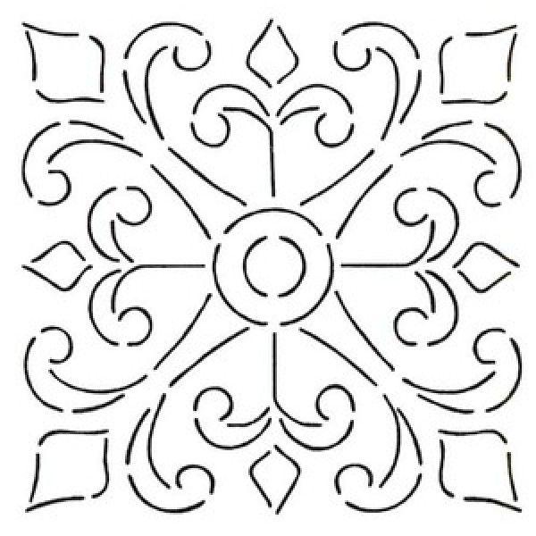 600x600 Spanish Stencil Designs Spanish Tile Stencils