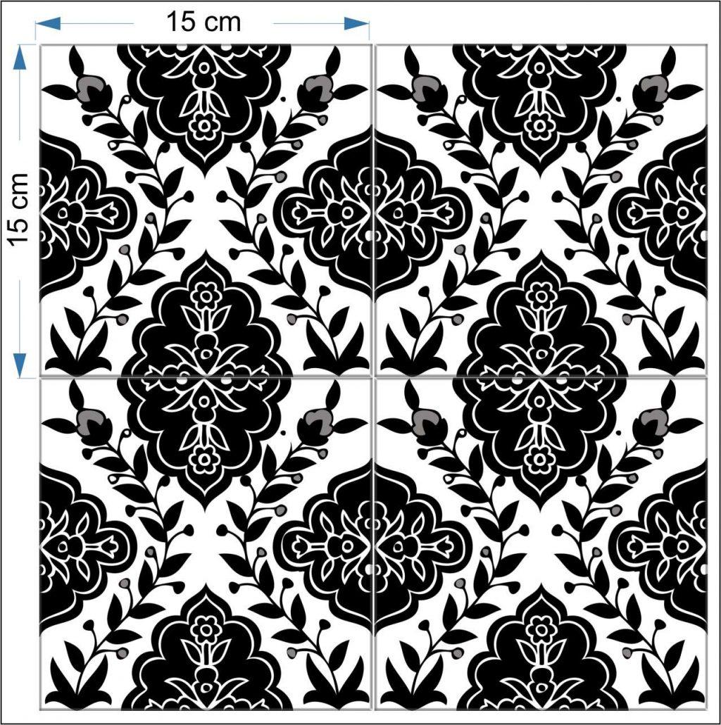 1024x1030 Decorative Tiles Black Amp White Balian Tile Studio Of Jerusalem